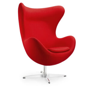 Arne-Jacobsen-Egg-Chair-Red