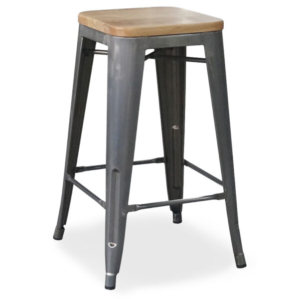 Elise-Bar-Stool-76cm-metalic-wooden-seat