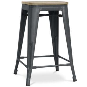 ZINZAN-Elise-Bar-Stool-66cm-dark-grey