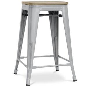 ZINZAN-Elise-Bar-Stool-66cm-light-grey