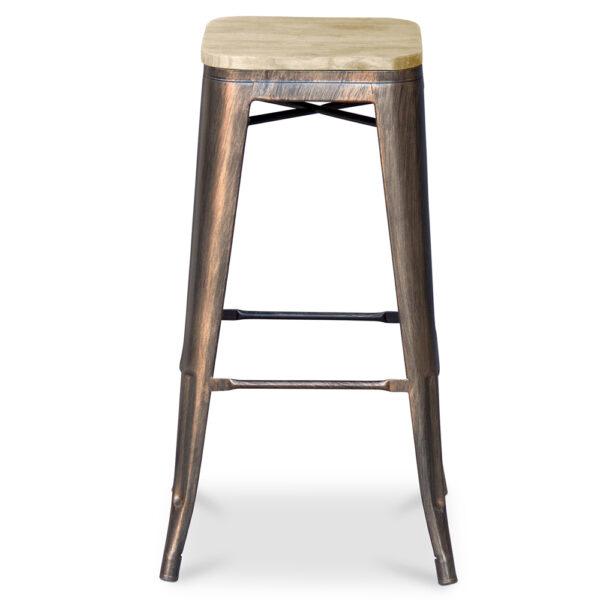 ZINZAN-Elise-Bar-Stool-wooden-76cm-bronze-2