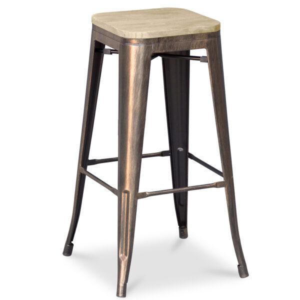 ZINZAN-Elise-Bar-Stool-wooden-76cm-bronze-3