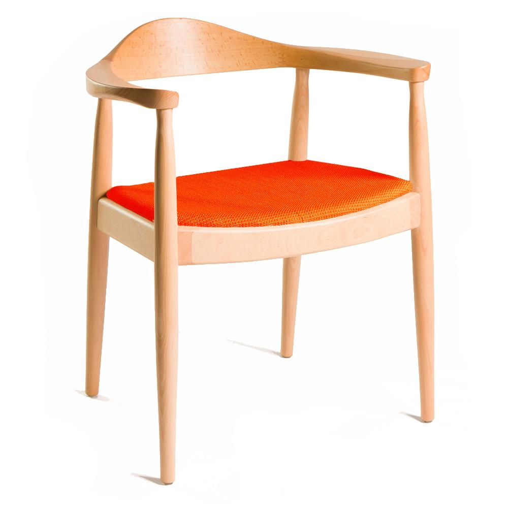 ZINZAN-KENNEDY-Chair orange