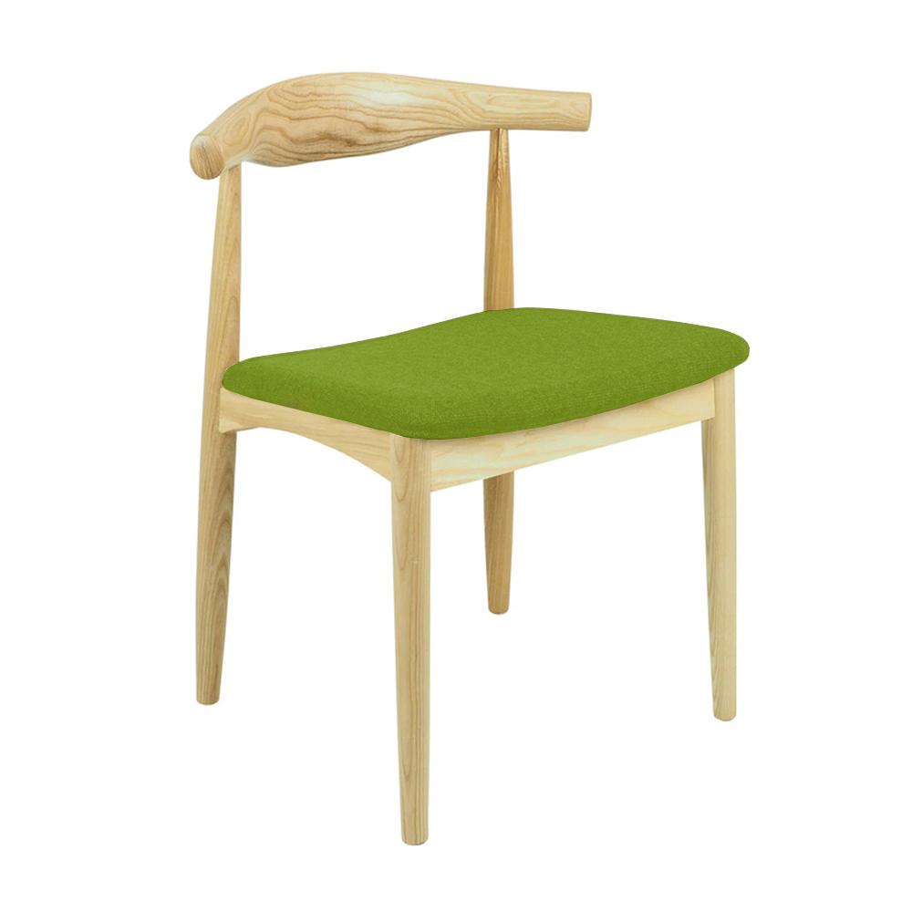 Wegner-Elbow-Chair-SQUARE-SEAT-green